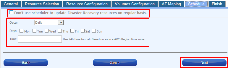 Disaster Recovery between AWS Accounts