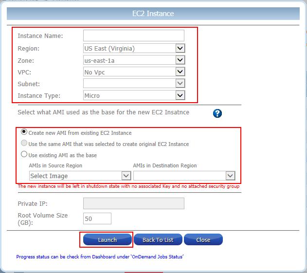 Restore EC2 Instance from Snapshot